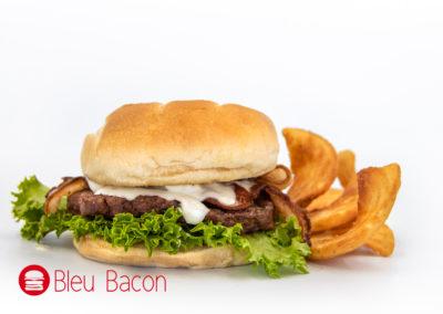 © Patio Diner 2019, Blue Bacon Burger