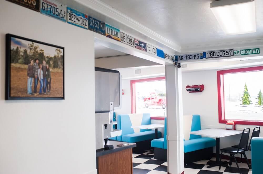 Blanding Utah, Places to eat in Blanding, burgers in Blanding, the best places to eat in Blanding, San juan County